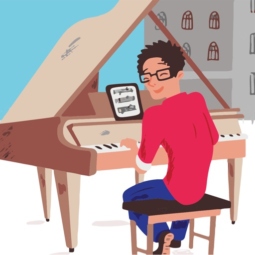 Piano Practice with Wolfie