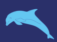 Ocean Dolphin Stickers!