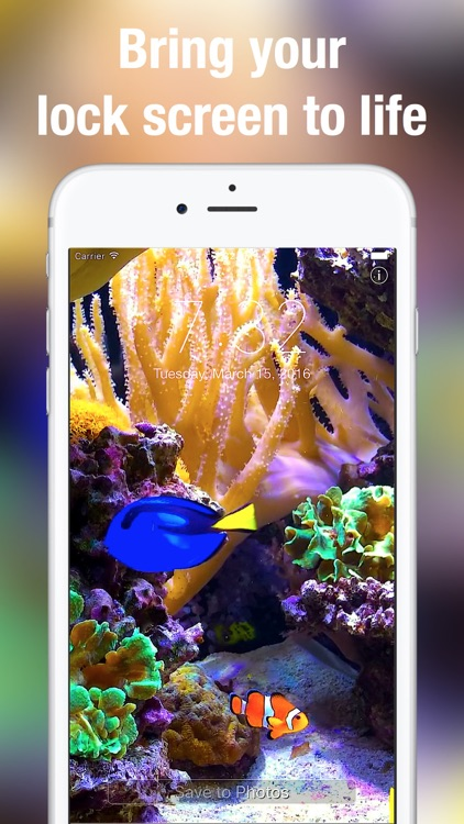 Aquarium Dynamic Wallpapers screenshot-1