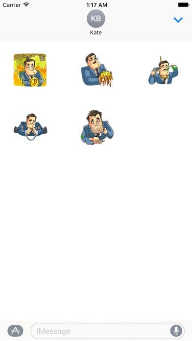 Mr. Trader CoinMoji Sticker screenshot 3