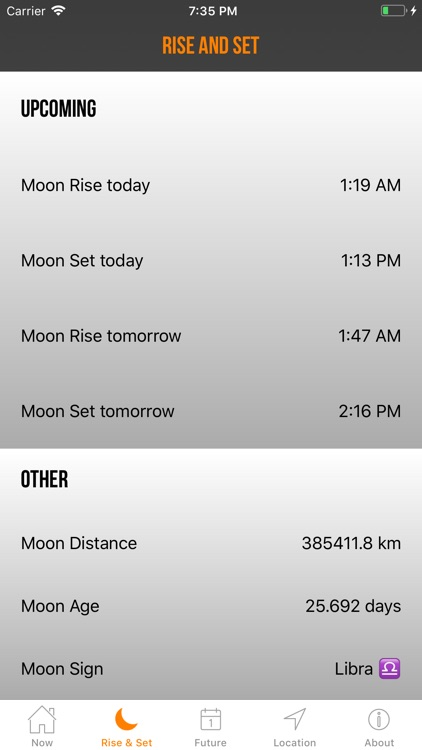 Moon Phase Plus Professional screenshot-1
