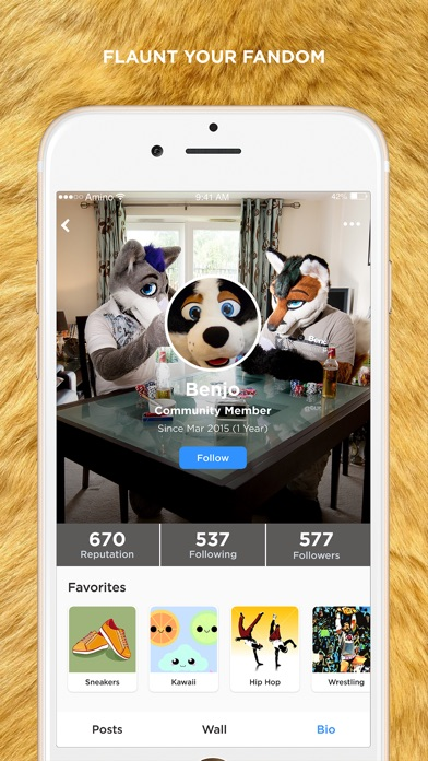 Apps for furries