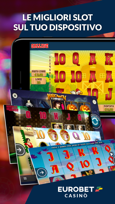 Screenshot of Eurobet Casinò – Slot Roulette3