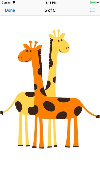 My Giraffe Sticker Pack screenshot-7