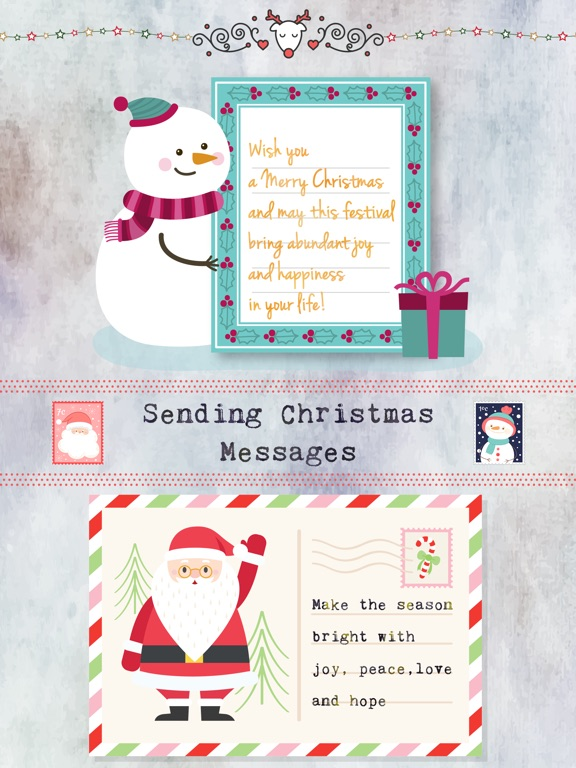 Christmas Letter with Message screenshot 6