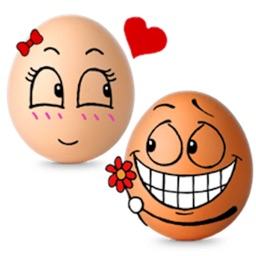 Love Of Eggs Eggmoji Sticker