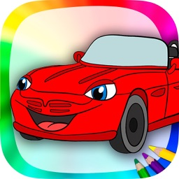 Cars coloring book & drawing