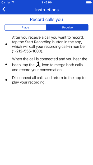 Call Record NOW Screenshot