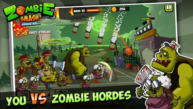 Zombie Smash Basketball - Tower Defense!