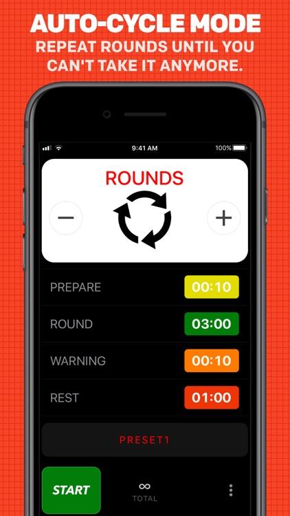 Boxing Timer Pro Round Timer screenshot-3