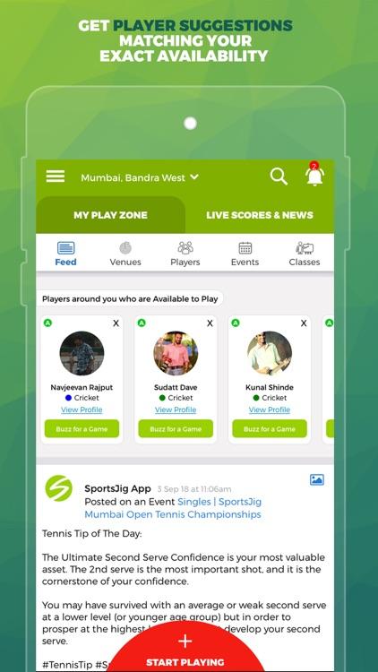 SportsJig - Sports near you! screenshot-5