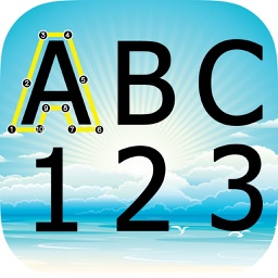 ABC 123 Drag Connect the Dot