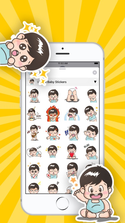 Baby Stickers • screenshot-2