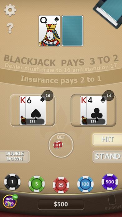 Blackjack ◇ screenshot 5