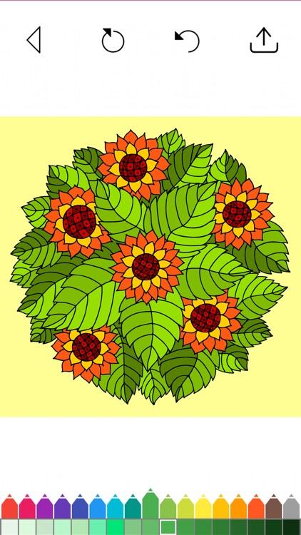 Flower Coloring Book Games screenshot-8