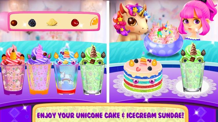 Unicorn Food Party Cake Slushy screenshot-4