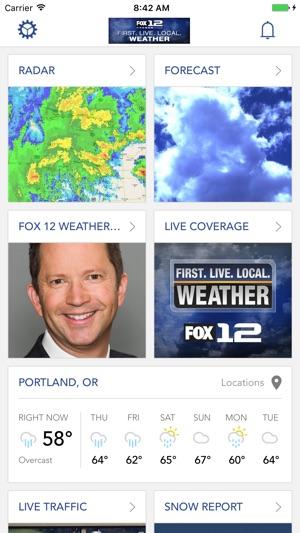 Portland Weather App -Fox 12 on the App Store