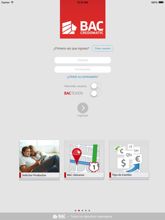 Banca mvil bac credomatic by bac credomatic network ios united screenshots thecheapjerseys Image collections