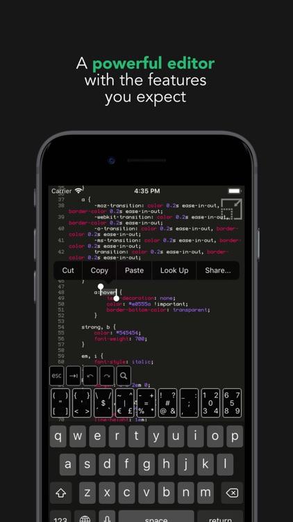 Buffer Editor - Code Editor