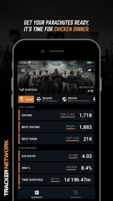 Tracker Network Fortnite Stats review screenshots