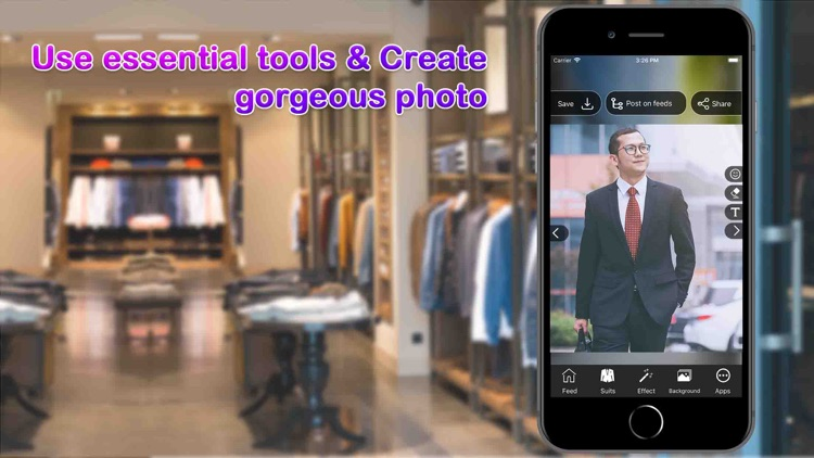 Man Suit Photo Editor screenshot-2