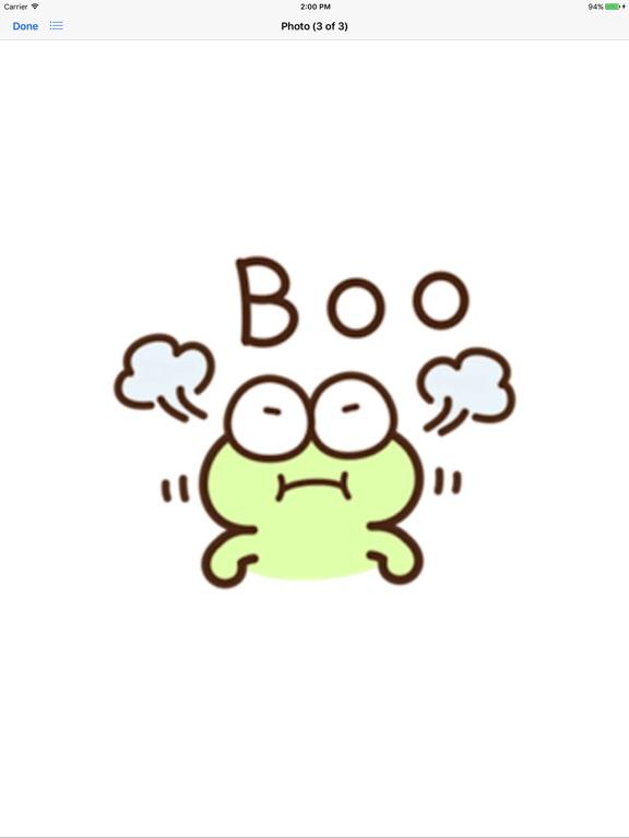 Very Cute Frog Emoji Sticker screenshot 9