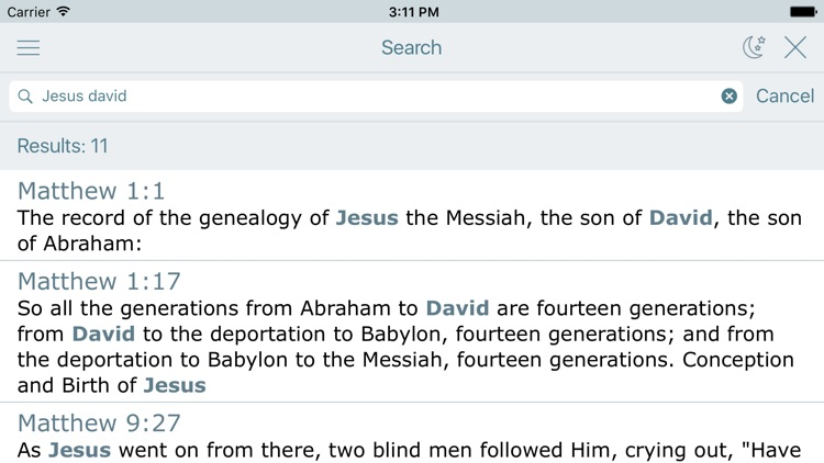 NASB Bible Holy Audio Version screenshot-3
