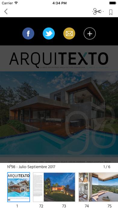 Arquitexto - Revista Dominican screenshot 2