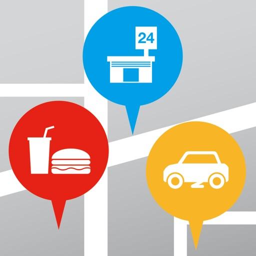 サーチランドマーク - 周辺施設検索アプリ