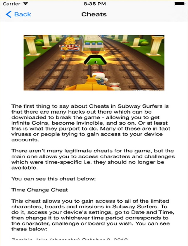 Guide Cheats for Subway Surfers - Coins for Subway on the
