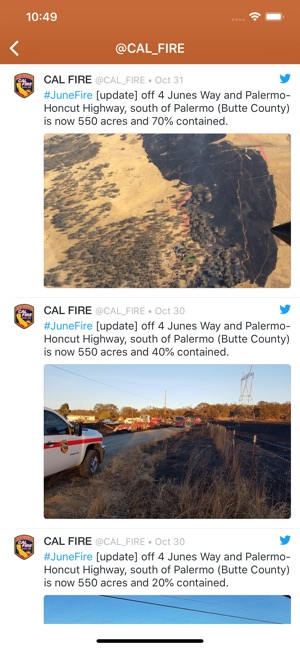 Wildfire Info On The App Store