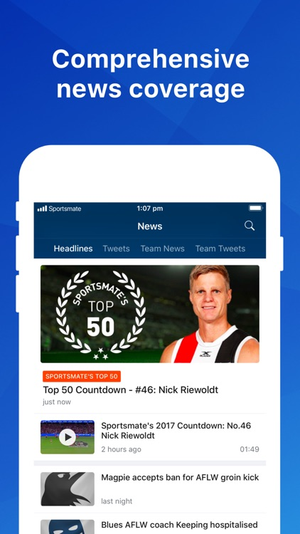 Footy Live: AFL Sports News