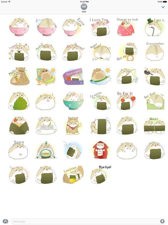 Adorable Fat Hamster Sticker screenshot 4