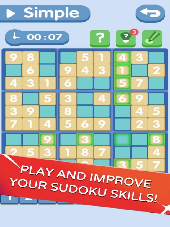 Sudoku!Level Brain screenshot 5