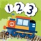 """""""With colorful graphics and cute sounds, 123 Trains is a wonderful educational app for the small ones"""