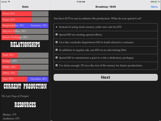 Broadway: 1849 screenshot 8