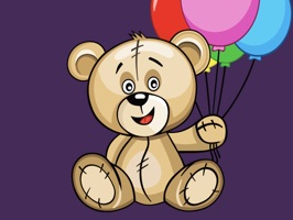 16 stickers with funny emotions Huge Teddy bear for all occasions in life