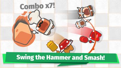 Smashers.io Foes in Worms Land screenshot 1