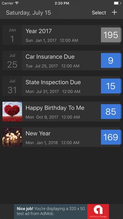 BetterCountdown Lite - The Event Countdown App