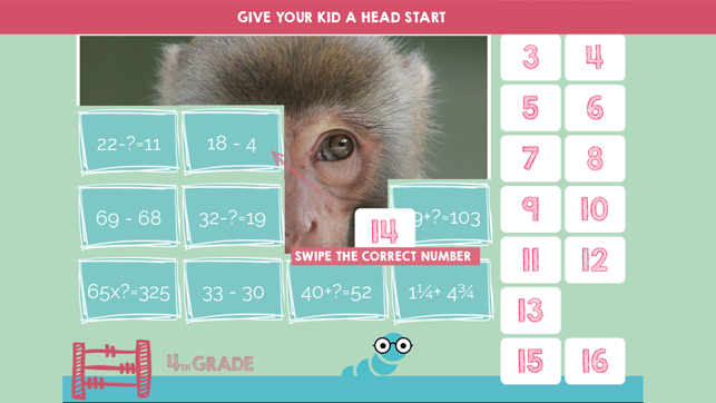 Math Worksheets 4th 5th 6th Grade on the App Store