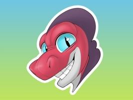 Jack Lizard Stickers for iMessage Starter Pack