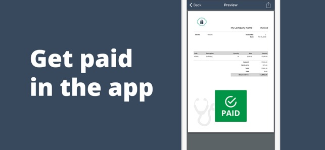 Invoice Maker Receipt Estimate On The App Store - Invoice maker app
