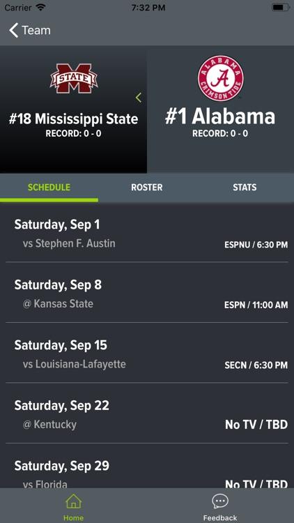 Alabama Football 2018 screenshot-3