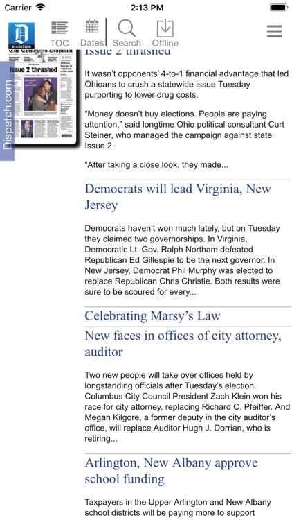 Columbus Dispatch E-Edition screenshot-4