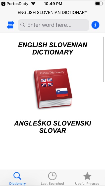 Eng-Slo dictionary