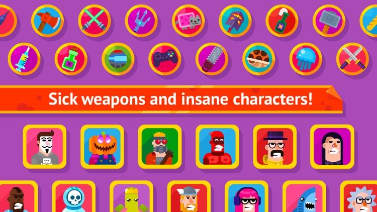 Bowmasters - Multiplayer Game screenshot-3