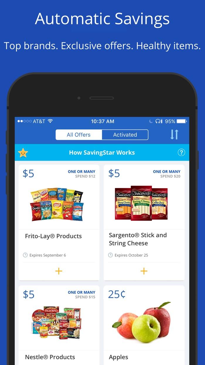SavingStar - Grocery Savings Screenshot
