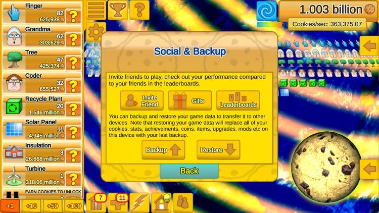 Cookie Clicker Save The World screenshot-3