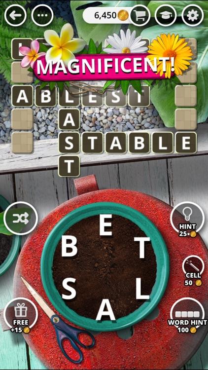 Garden of Words - Word Game screenshot-4