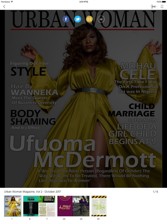 Urban Woman Magazine screenshot 7